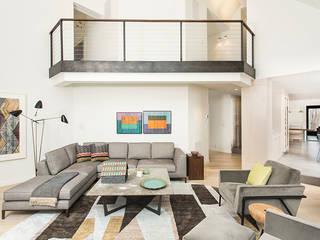 Salas modernas de BILLINKOFF ARCHITECTURE PLLC Moderno