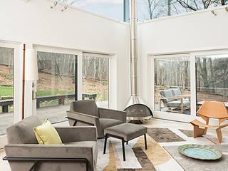 Moderne Wohnzimmer von BILLINKOFF ARCHITECTURE PLLC Modern
