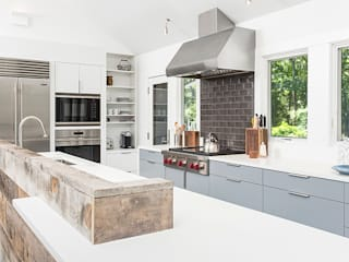 Quogue Weekend House, Quogue, NY BILLINKOFF ARCHITECTURE PLLC Modern Kitchen