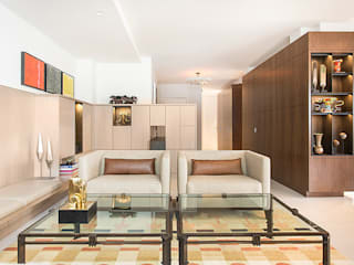 East 69th Street Apartment, NYC BILLINKOFF ARCHITECTURE PLLC Living room