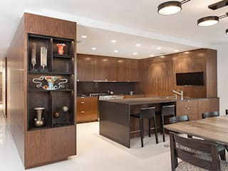 East 69th Street Apartment, NYC BILLINKOFF ARCHITECTURE PLLC Kitchen