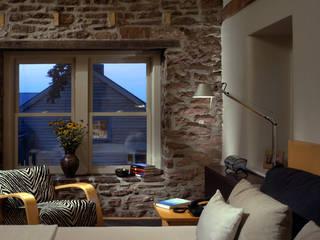 Schlafzimmer von BILLINKOFF ARCHITECTURE PLLC, Landhaus