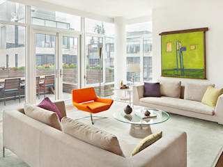BILLINKOFF ARCHITECTURE PLLC Living room