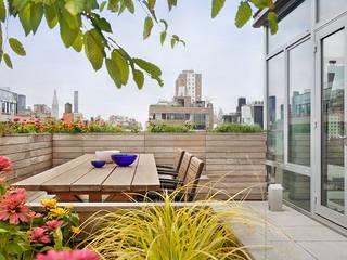 Hiên, sân thượng phong cách tối giản bởi BILLINKOFF ARCHITECTURE PLLC Tối giản