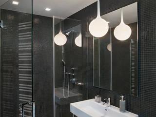 BILLINKOFF ARCHITECTURE PLLC Bagno minimalista