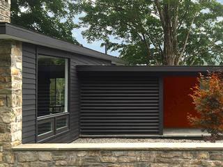 Casas estilo moderno: ideas, arquitectura e imágenes de BILLINKOFF ARCHITECTURE PLLC Moderno
