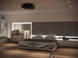 3D示意圖1:  臥室 by VH INTERIOR DESIGN