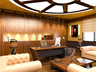 Hasan Gültürk 3d Görselleştirme ve Tasarım Hizmetleri – Makam Odası Tasarım Çalışması:  tarz