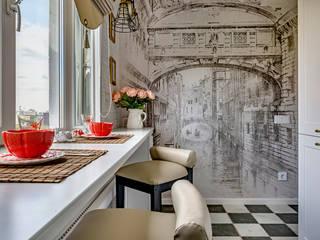 6 метров Венеции: Кухни в . Автор – Школа Ремонта, Классический