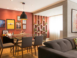 Apartamento RV Salas de jantar modernas por NAU ARQUITETURA Moderno