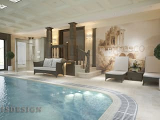 ISDesign group s.r.o. Infinity pool Stein Beige