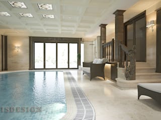ISDesign group s.r.o. Infinity pool Holz Beige
