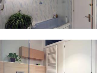 Reforma de baño. Antes y después de HD Arquitectura d'interiors