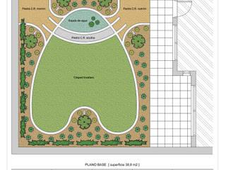 Jardín Las Enanas: Jardines con piedras de estilo  por Dhena CONSTRUCCION DE JARDINES,Moderno