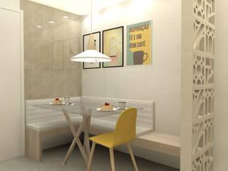 Deise Maturana arquitetura + interiores Kitchen units Wood Beige