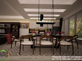 Modern dining room by PD.Teguh Desain Indonesia Modern
