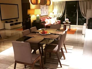 Modern dining room by ab1 Abode Pte Ltd Modern
