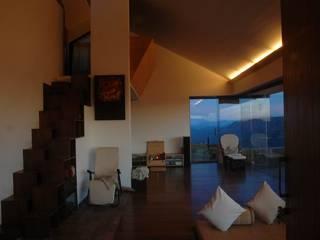 Mayur Farm House Modern living room by Studio - Architect Rajesh Patel Consultants P. Ltd Modern