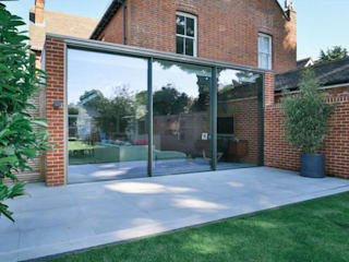 Kitchen extension and Renovation in Thame, Oxfordshire Casas modernas de HollandGreen Moderno