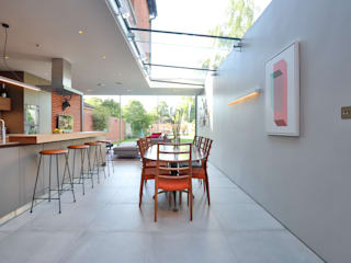 Kitchen extension and Renovation in Thame, Oxfordshire Cocinas modernas de HollandGreen Moderno