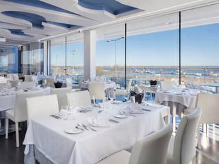 Restaurante Gastronomy Espaços de restauração modernos por The Spacealist - Arquitectura e Interiores Moderno