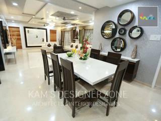 Flat Designed at Aundh of Mr. Satish Tayal Modern dining room by KAM'S DESIGNER ZONE Modern