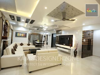 Home interior design for Satish Tayal Classic style living room by KAM'S DESIGNER ZONE Classic