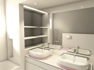 Modern bathroom by The Spacealist - Arquitectura e Interiores Modern