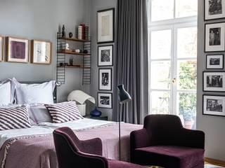 Bedroom tredup Design.Interiors Camera da letto moderna