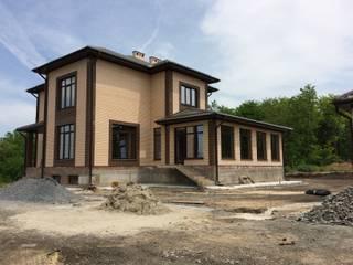 Архитектурное бюро 'Парамоновы' Single family home Bricks Beige