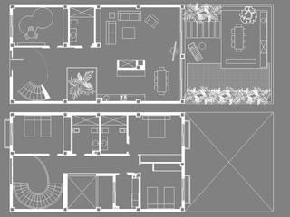 Proyecto de diseño interior para vivienda en Massarrojos, Valencia. Estudio Alberto Navarro Arquitectura Interior de Alberto Navarro Arquitectura Interior