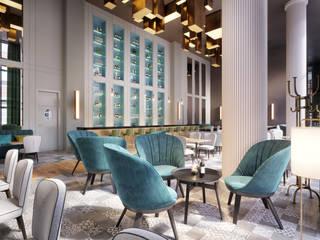 4 Sterne Hotel Berlin Moderne Gastronomie von Designer's House GmbH Modern