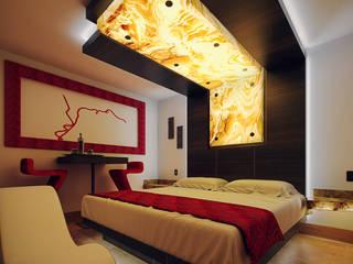 Renders Motel Torre Blanca de Reto Arquitectos