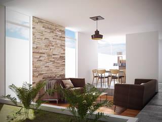 Sala/Comedor: Espacios comerciales de estilo  por Reto Arquitectos