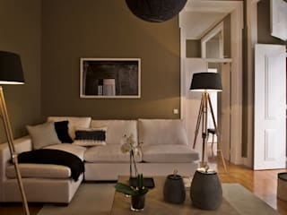 Pureza Magalhães, Arquitectura e Design de Interiores Living roomLighting
