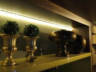 Bodegas de vino de estilo ecléctico de Bomm Warken Arquitetura S/S Ltda Ecléctico