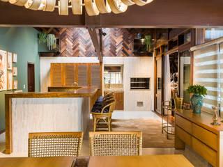 Ruang Makan oleh Thiago Mondini Arquitetura, Eklektik