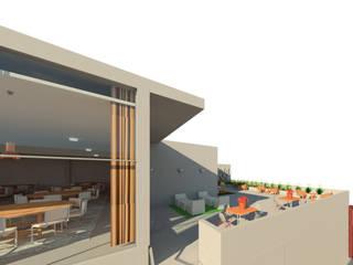 Salón de eventos Salones industriales de Madera de Arquitecto Industrial