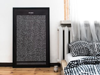 "Weltkarte-Poster ""Find it! World"" - Wortpuzzle:   von Baltic Design Shop"