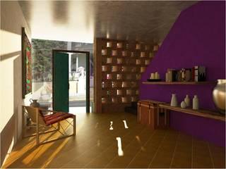 Patios & Decks by c05 Arquitectura , Mediterranean