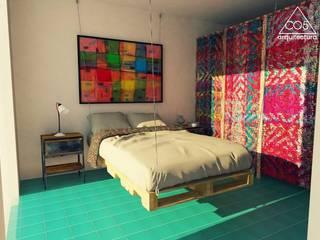 Study/office by c05 Arquitectura , Mediterranean