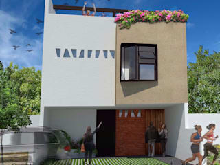 Single family home by c05 Arquitectura , Modern
