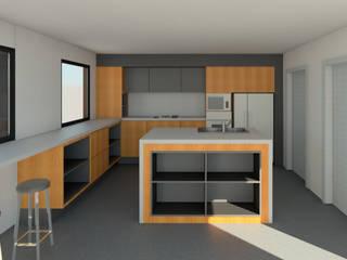 Diseño de mobiliario de Madera de Arquitecto Moderno
