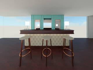 Mueble bar vintage :  de estilo  por Madera de Arquitecto