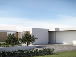 reabilitação e ampliação de moradia unifamiliar Casas modernas por marqs Moderno