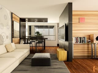 Modern living room by Modulor Arquitectura Modern
