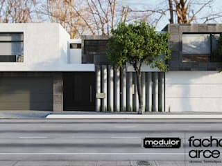 Single family home by Modulor Arquitectura