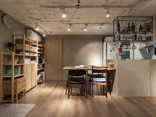 Z+SQUARE DESIGN / 正工設計 Asian style dining room