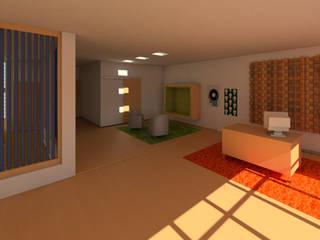 Estudio de grabación: Salas de estilo moderno por Madera de Arquitecto