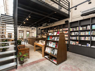 Z+SQUARE DESIGN / 正工設計 Industrial style commercial spaces